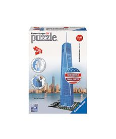 Puzzle 3d freedom tower - 26912562