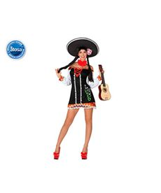 Mariachi sexy mujer m-l