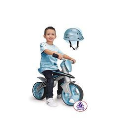 Jumper balance bike con casco