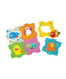 Puzzle foam animalitos - 87704277