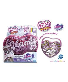 Color me mine glass glam corazon - 30586849