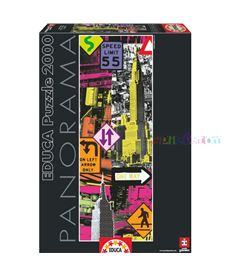 Puzzle 2000 new york pop art - 04016017
