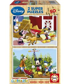 Puzzle 2 x 50 mickey mouse - 04015285