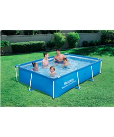 Piscina tubular rectangular 259x170x61 cm. - 86756403
