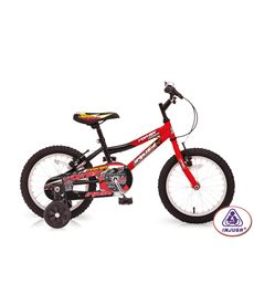 "Bicicleta 16"" vortex red - 18516700"