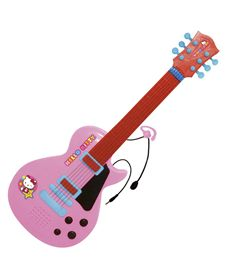 Guitarra electronica con micro hello kitty - 31001505