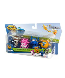 Superwings tranformable a bots- pack de 4 - 05643952
