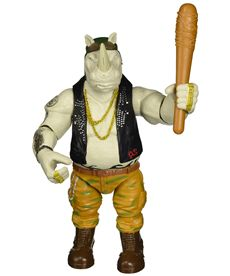 Tortugas movie 2. figura de 28 cm rocksteady - 23488357
