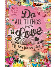 Puzzle 500 do all things with love - 04017086