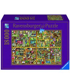 Puzzle 18000 magical bookcase - 26917825