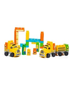 Camion blocks + 2 remolques (60 p. - 26516479