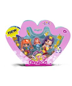 Pinypon pack 3 piratas y sirenas - 13003058