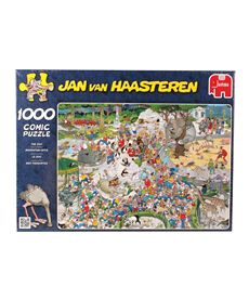 Puzzle 1000 comic-el zoo- jan van haasteren - 09501491
