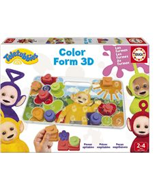 Color form 3d teletubbies - 04017062