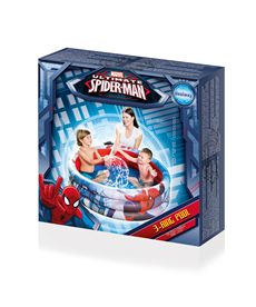 Piscina spiderman hinchable - 86798018