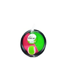 Catch ball 2 pzas 8 x 8 cm con pelota 6,5cm (antes - 87868771