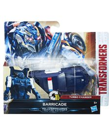 Transformers un paso turbo changers barricade - 25536507