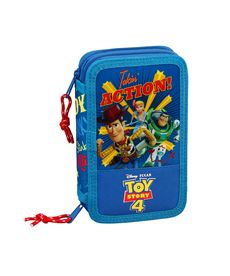 Plumier doble pqño 28 pcs toy story 4 - 79133744