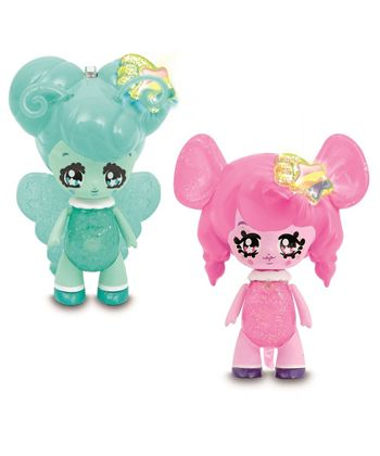 Flora y mousy 2 glimmies friends de 6 cm - 23400198