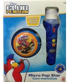 Microfono mano club penguin