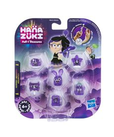 Hanazuki pack 6 tesoros color morado - 25536150