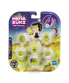 Hanazuki pack 6 tesoros color amarillo - 25536152