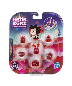 Hanazuki pack 6 tesoros color rojo - 25536154