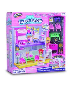 Happy places-studio playset+12 shopkins/petkins - 23401269