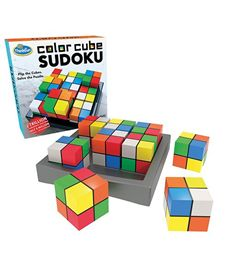 Color cubes sudoko - 26976342