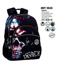 Mochila doble a.o. cg not dead - 75655975