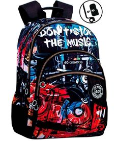Mochila doble a.o. cg music - 75655979
