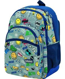 Mochila st/ac smiley pop