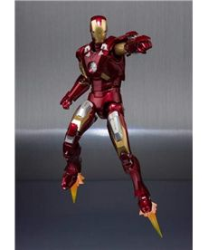 Iron man vii+set armaduras fig.15 cm