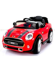 Mini hatch 12v. rojo