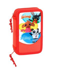 Plumier doble pqño 28 pcs bing - 79132531