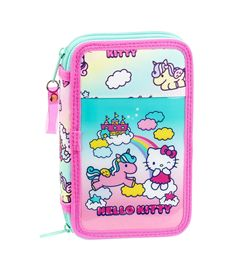 Plumier doble pqño 28 pcs hello kitty ca - 79134328