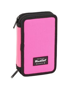 Plumier doble pqño 28 pcs blackfit8 pink - 79134459