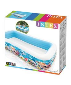 Piscina tropical 305x183x56 1020 l - 90758485