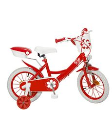 "Bicicleta 14"" colors roja - 34314124"