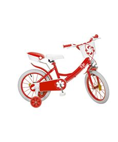 "Bicicleta 16"" colors roja - 34316235"