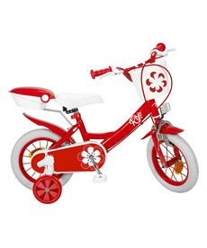 "Bicicleta 12"" colors roja - 34312021"