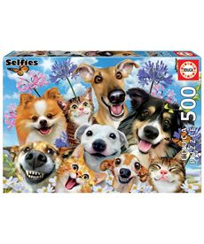 Puzzle 500 fun in the sun selfie - 04017983
