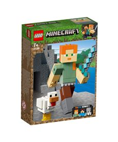 Bigfig minecraft: alex con gallina minecraft