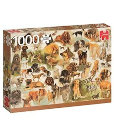Puzzle 1000 dogs poster - 09518596