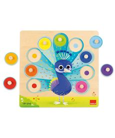 Puzzle pavo real goula - 09553060