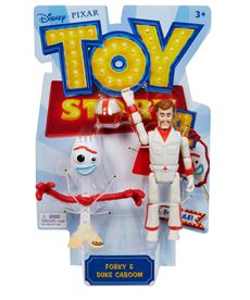 Toy story 4 figura forky y duke caboom - 24575043