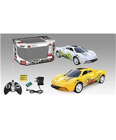 B/o ra/c 1:18 22 cm 4 function car w/charger, 2 co - 87884199