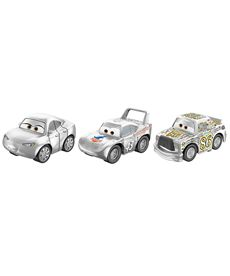 Pack 3 cars mini racers chickhick certain y king - 24561636