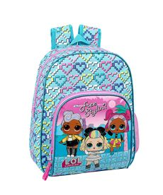 Mochila infantil adapt.carro lol surprise - 79134417