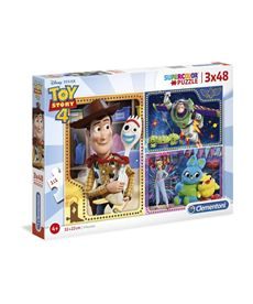Puzzle 3x48 toy story 4 - 06625242